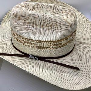 Twister Two-Tone Bangora Western Cowboy Hat